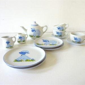 Dinette bleue