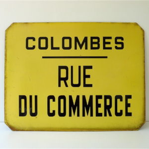 Plaque Colombes