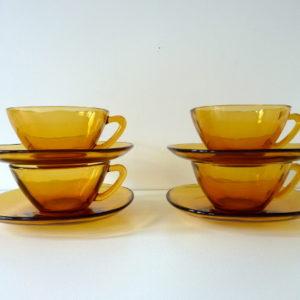 tasses vereco ambre