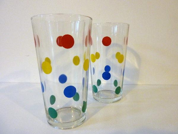 verres à pois