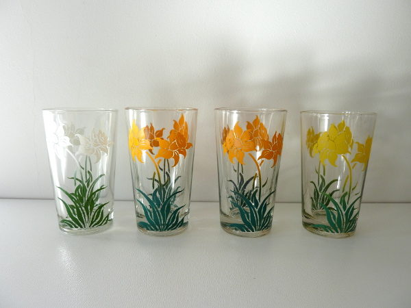 verres jonquilles