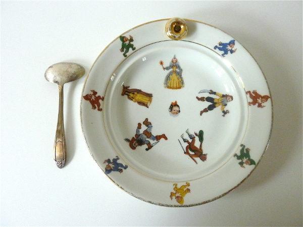 Assiette Contes de fée
