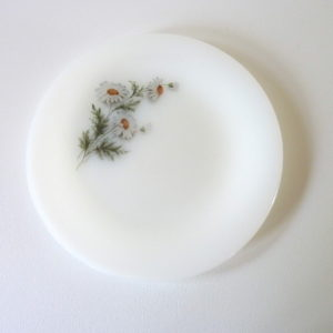 Assiettes plates Marguerite