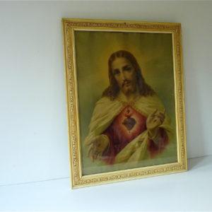 Cadre ivoire Jésus