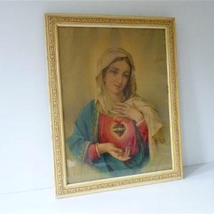 Cadre ivoire Marie