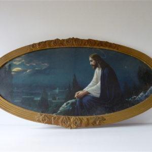 Cadre ovale Jésus