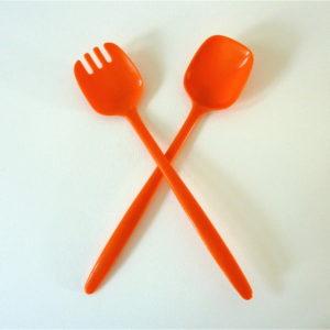 Couverts Orange