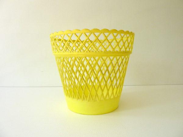 cache pot syla jaune