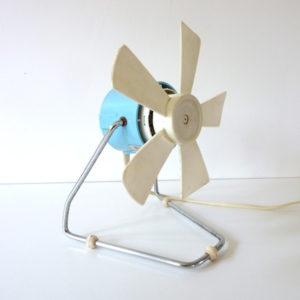 ventilateur bleu