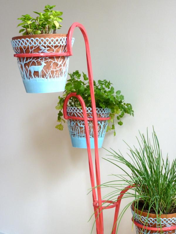 porte plantes haut feeb 39 s little shop. Black Bedroom Furniture Sets. Home Design Ideas