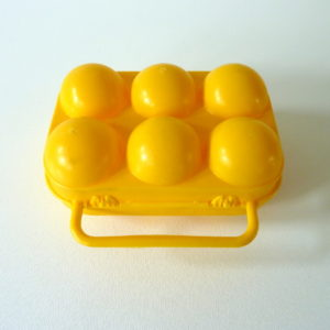 Boite à œufs orange