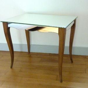 Petite table miroir