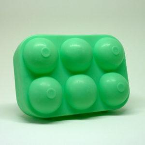 Boite à oeufs vert mint