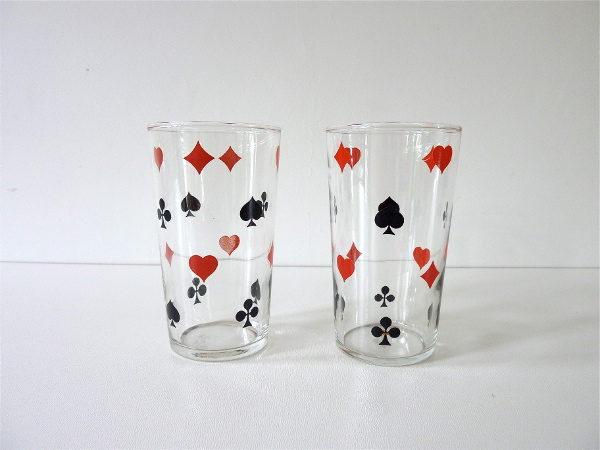 verres jeu de cartes