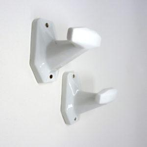 Pateres porcelaine