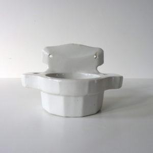 Support à verre en porcelaine