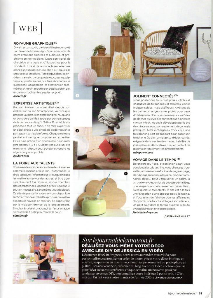 Le journal de la maison Avril 2016 - Page