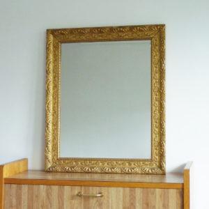 Miroir ancien cadre doré