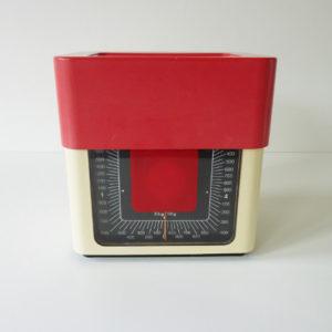 balance terraillon beige et rouge
