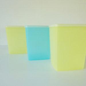Boites Tupperware pastel