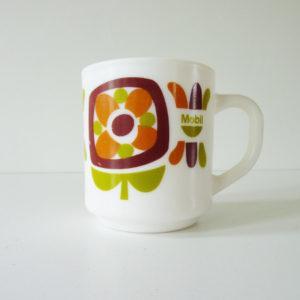 Mug mobil marron et vert