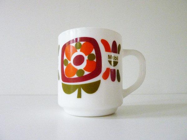 Mug mobil orange et vert
