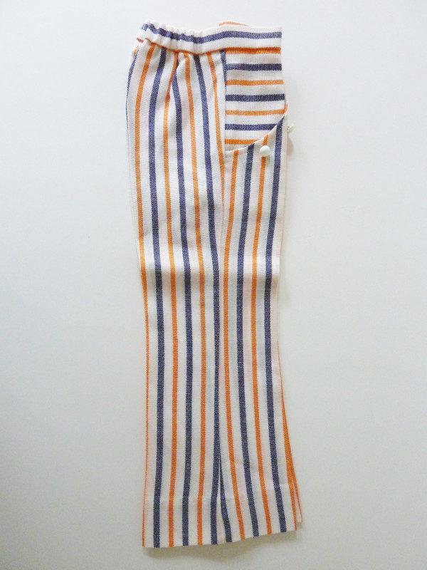 Pantalon à pont