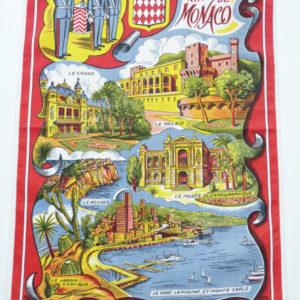 Torchon principauté de Monaco
