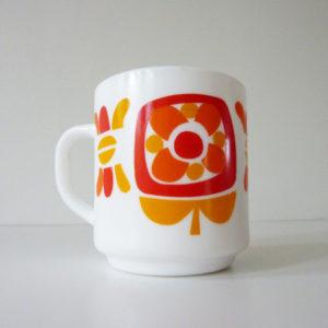 mug mobil rouge orange