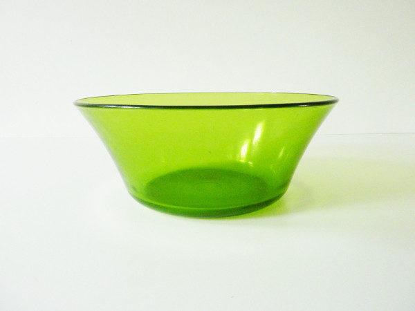 saladier vert Duralex