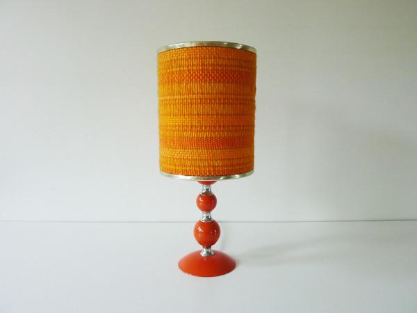 Lampe orange seventies