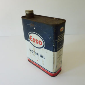 Bidon huile Esso