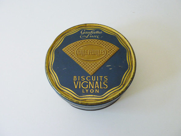 Boite biscuits Vignals