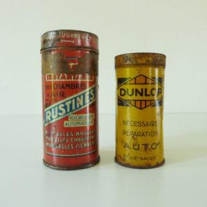 boites rustines et dunlop
