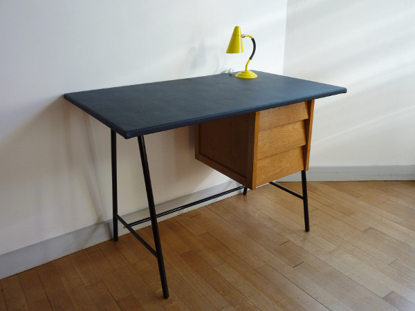 bureau 3 tiroirs 50 s feeb 39 s little shop. Black Bedroom Furniture Sets. Home Design Ideas