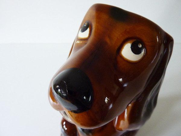 barbotine-chien-vintage