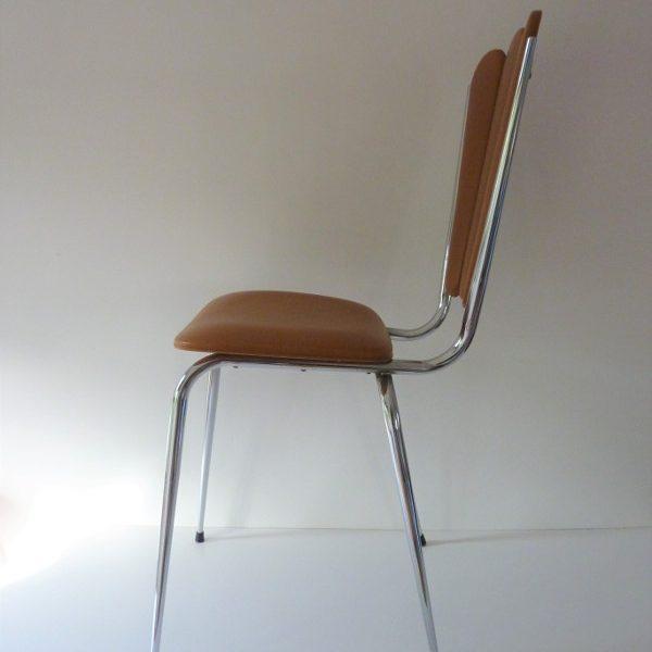 chaise-skai-fleur