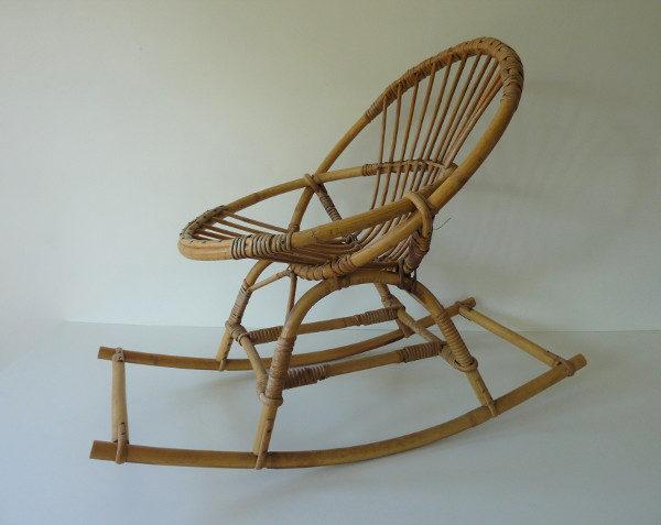 fauteuil à bascule enfant
