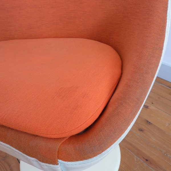 fauteuil Joe Colombo orange zoom