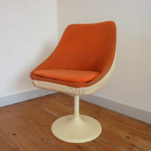 fauteuil Joe Colombo pied tulipe