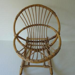 rocking chair enfant vintage