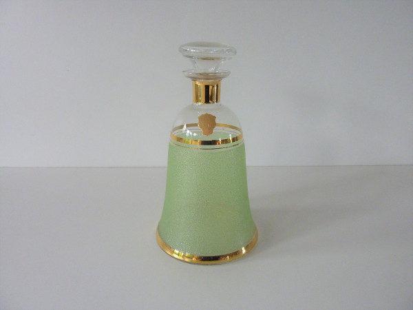 Carafe givrée verte