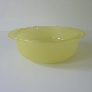cocotte pyrex jaune