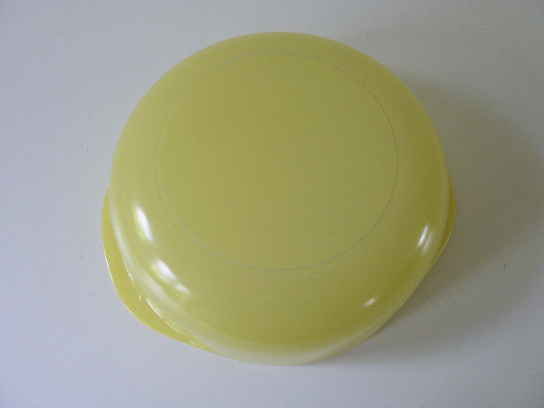 cocotte pyrex jaune rétro