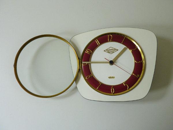 horloge murale formica 4 rubis