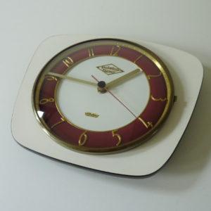 horloge murale formica vintage
