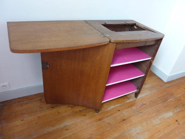 meuble ancien bois massif art déco