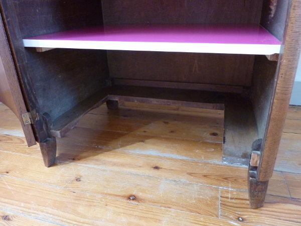meuble de couture en bois