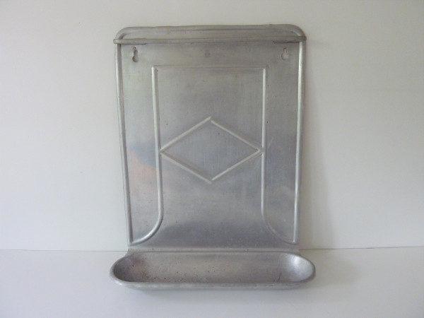 porte ustensiles ancien aluminium années 30