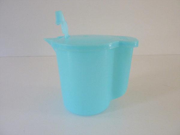 Tupperware bleu verseuse années 60